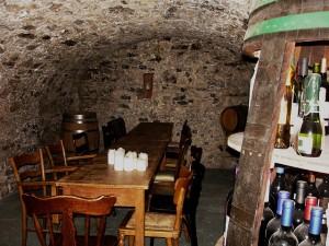 Wein Lagerung Gewölbe